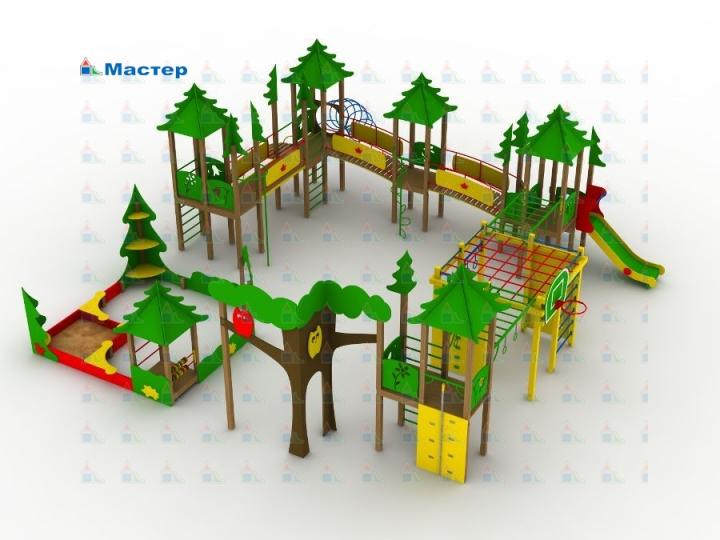 Сделать макет детской площадки своими руками