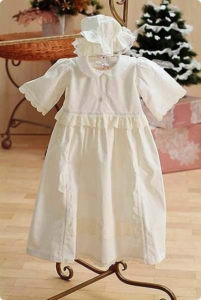 Крестильное платье серебряный век
