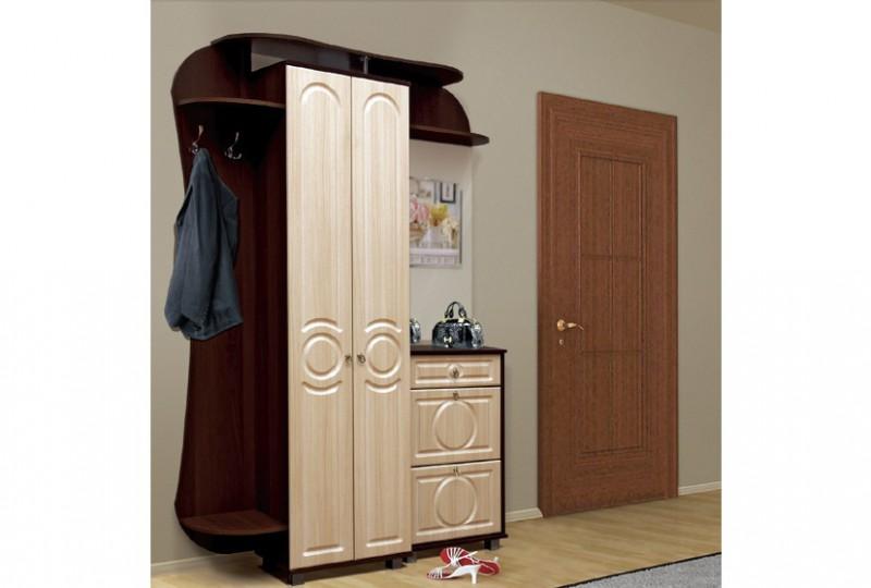 Прихожая саша-8 мдф мебель для прихожей фант-мебель (россия).