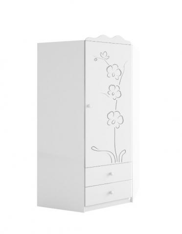 Шкаф угловой, орхидея серебро меблик meblik, орхидея серебро.